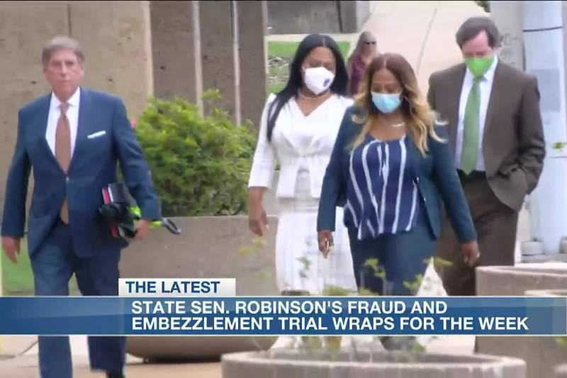 Testimony continues in embezzlement trial of State Sen. Katrina Robinson