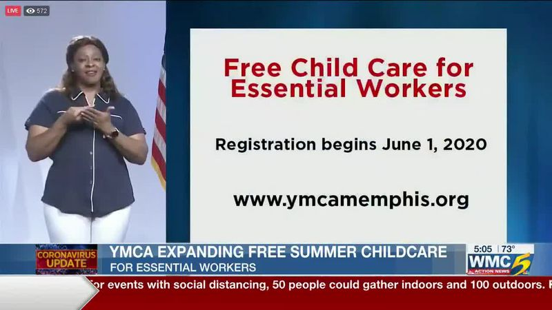 YMCA, city of Memphis partnering to expand free childcare for essential workers