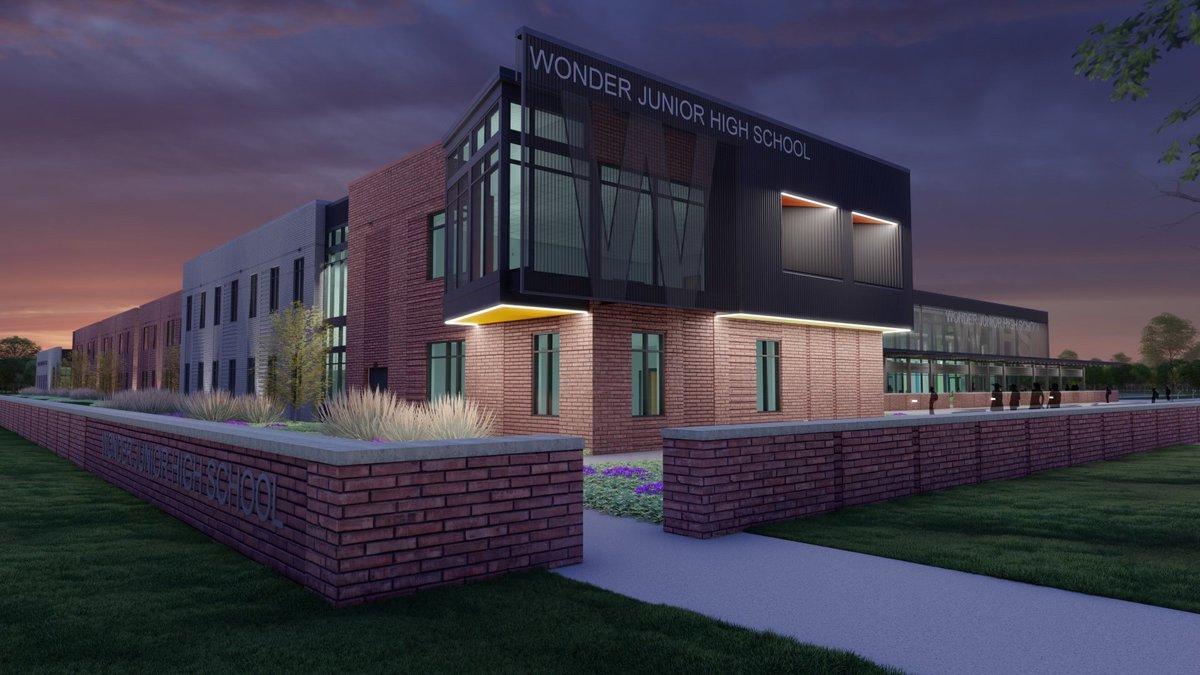 Wonder Junior High School in West Memphis, Arkansas