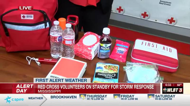 Red Cross volunteers in Flowood are preparing to be on standby for Thursday's weather.