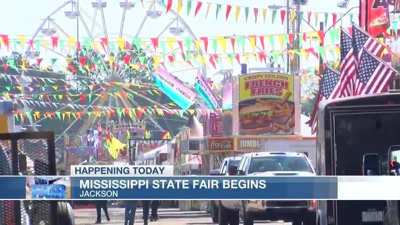 Mississippi State Fair begins