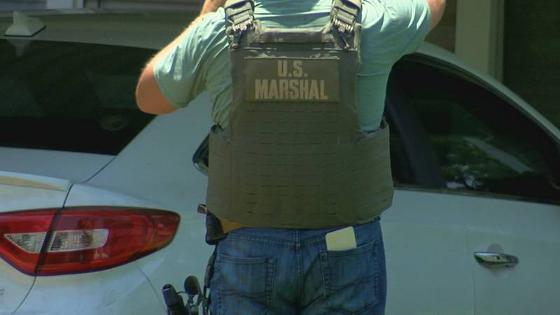 U.S. Marshals and LPD arrested Cesar Armendariz at a home in Lawton.