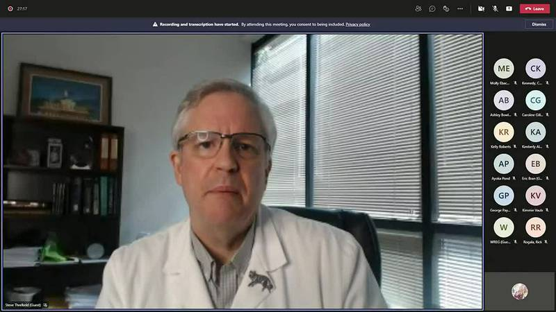 WATCH: Dr. Threlkeld speaks on vaccine efficacy and COVID-19 among toddlers - clipped version