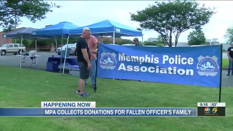 MPA collects donations for fallen officer's family