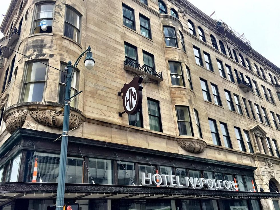 Developers are breathing new life into a 114-year-old building that will soon open as a 58-room...