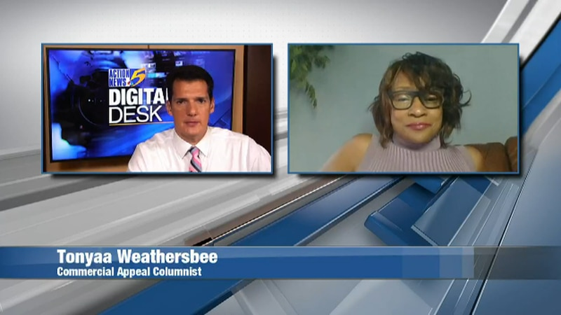 Digital Desk discussion with Tonyaa Weathersbee, Commercial Appeal metro columnist