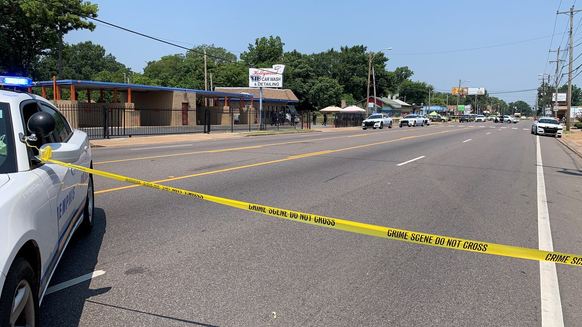 Police say a man was shot to death on North Hollywood in Memphis Aug. 3, 2021.