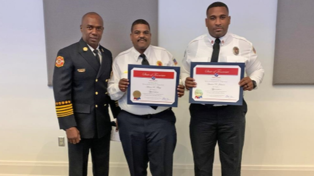 Shelby County firefighters recognized for heroic actions