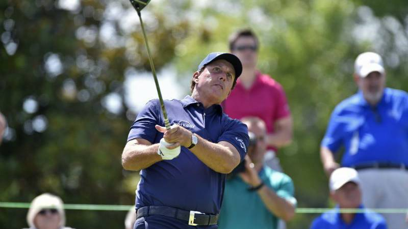 Phil Mickelson at 2017's FedEx St. Jude Classic. (Source: WMC Action News 5)