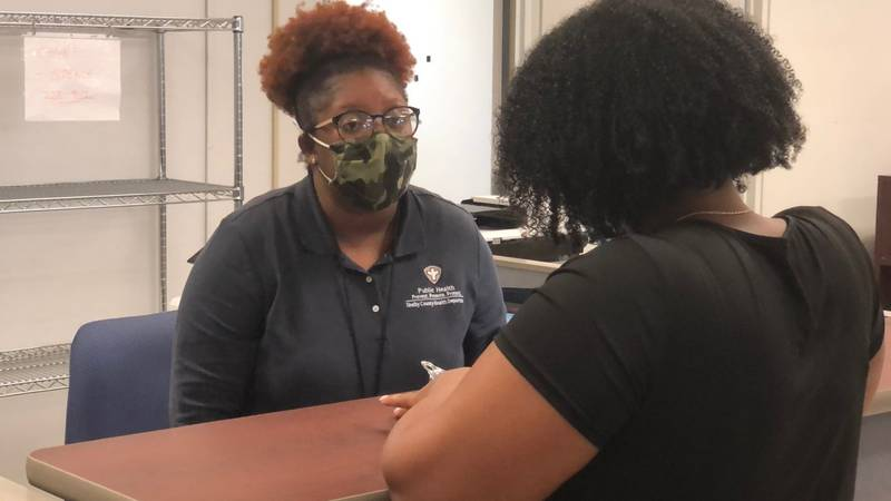 Shelby County Health Department held special back-to-school services to help parents get a...