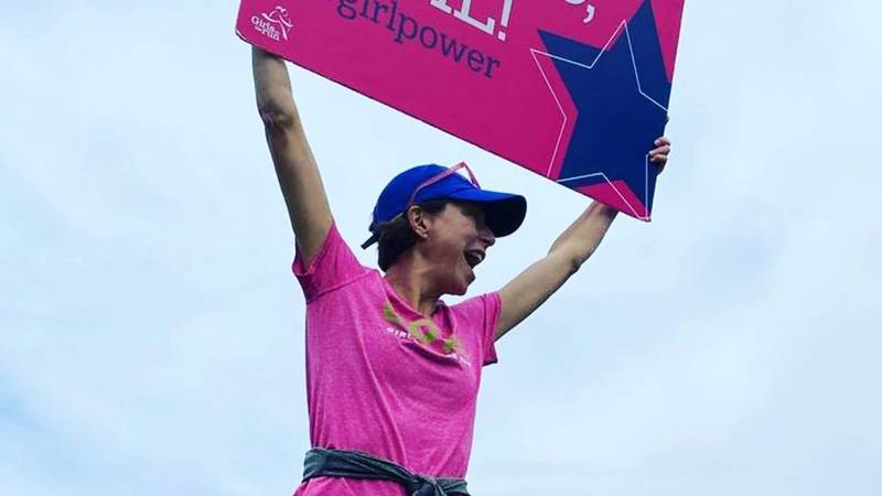 Girls on the Run Memphis marathon.