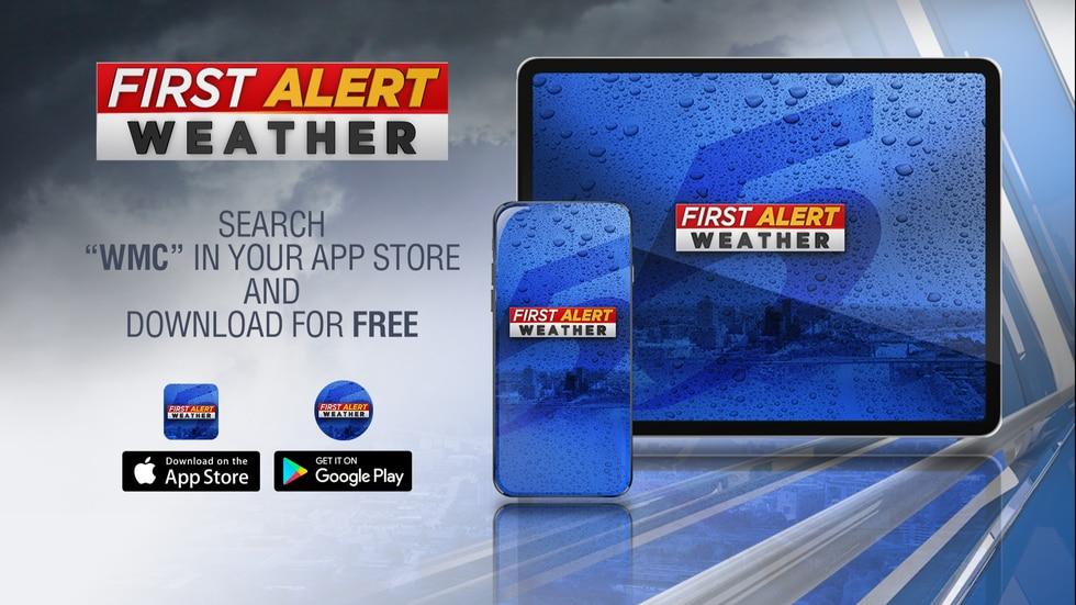 WMC First Alert weather app