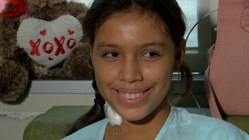 Sherlen Hernandez became the 100th Gift of Life Mid-South child to undergo life-saving surgery...