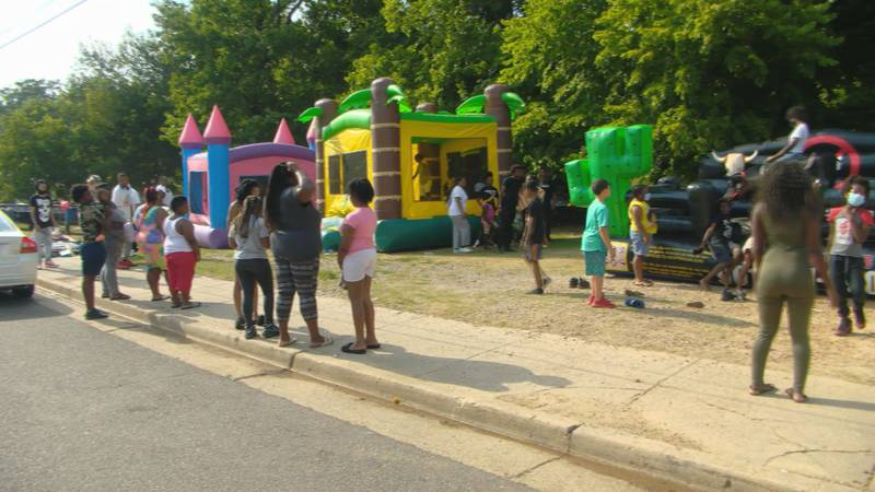 Walker Homes Cares Block Party