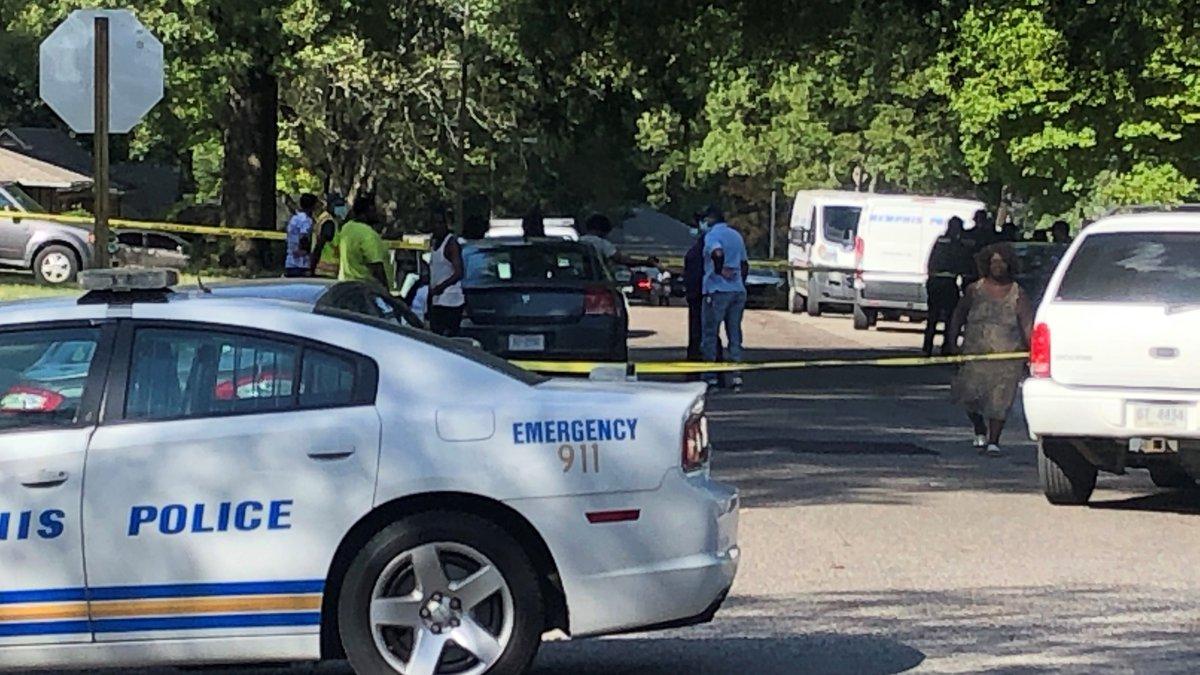 Memphis Police car Socorro