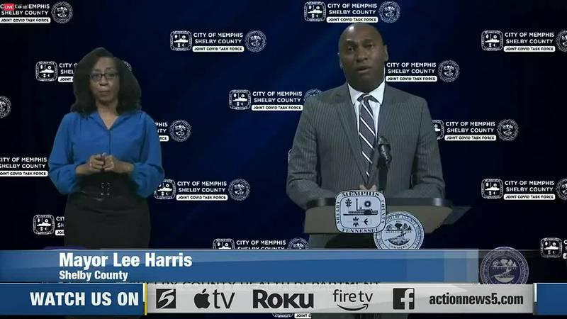 Mayor Lee Harris
