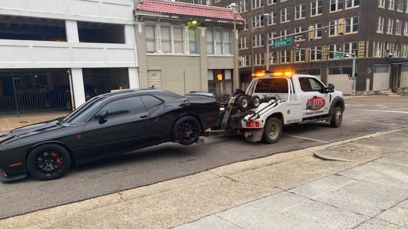 Reckless driving arrest