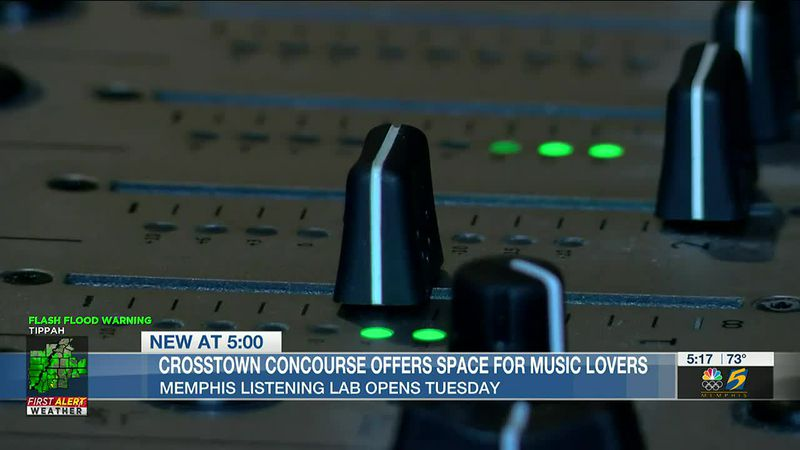 Memphis Listening Lab offers space for music lovers