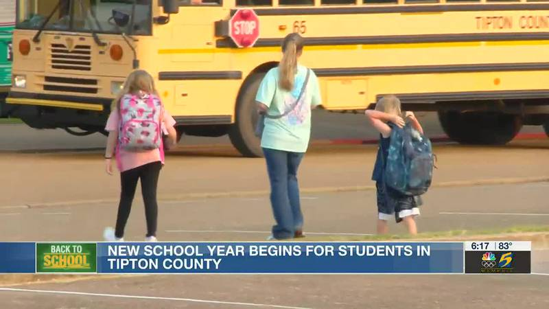 New school year begins for students in Tipton County