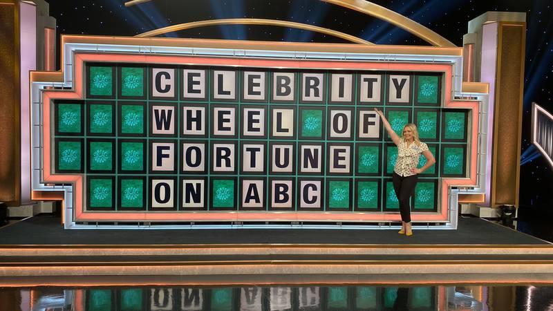 "Melissa Joan Hart takes ""Celebrity Wheel of Fortune"""