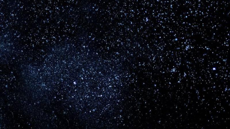 Stars in the night sky (Source: Public Domain)