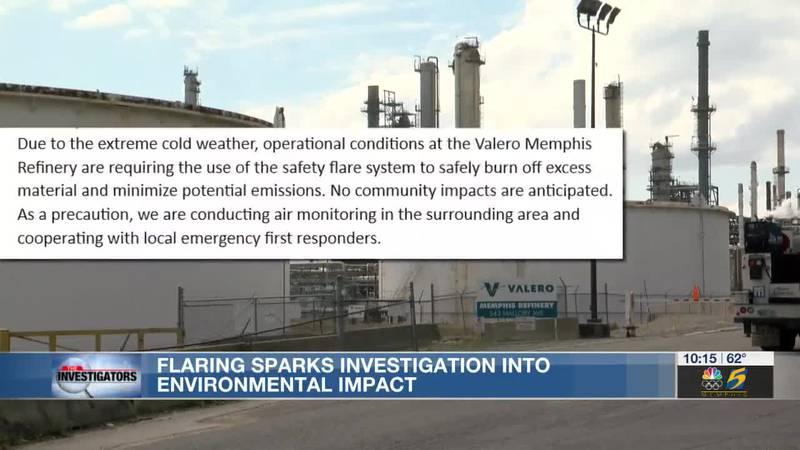 The Investigators: Flaring sparks investigation into environmental impact