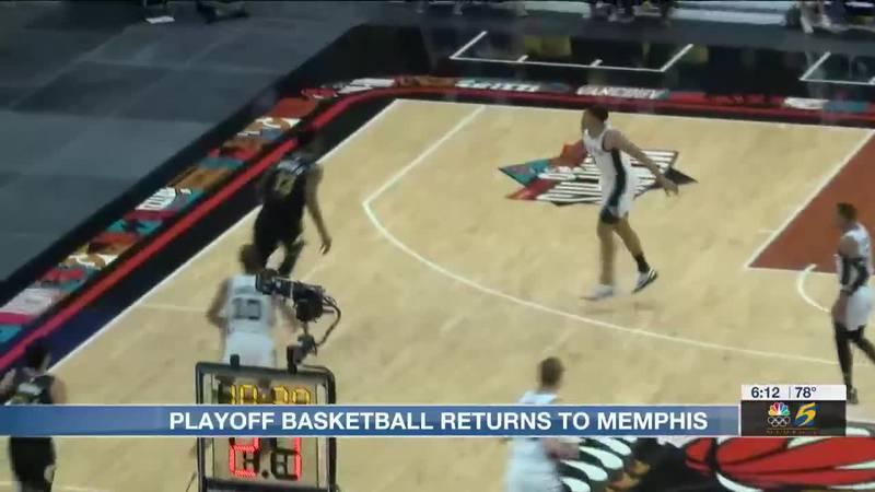 Playoff basketball returns to Memphis