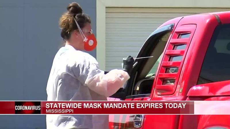 Statewide mask mandate set to expire today