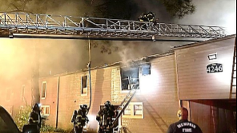Fire at Memphis apartment complex determined to be arson