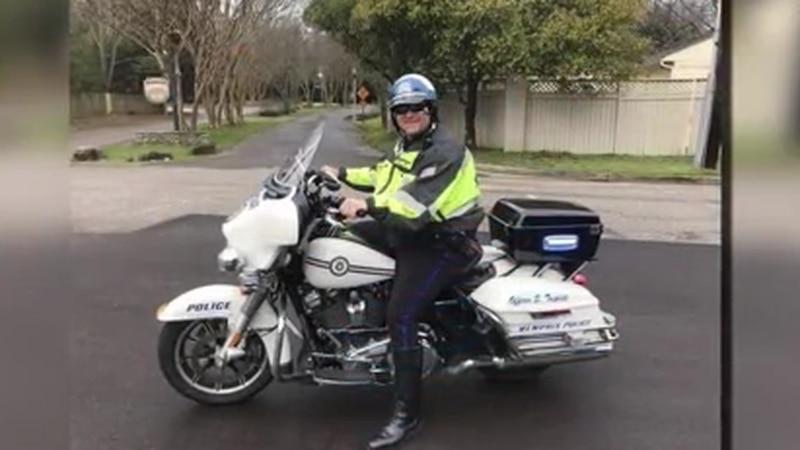 Sea of Blue honoring fallen Memphis police officer Scotty Triplett