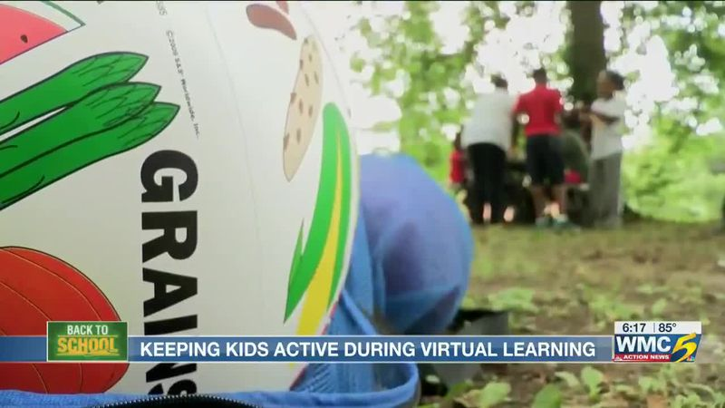 Health expert shares ways to keep kids active while virtual learning