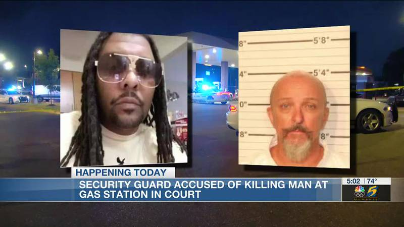 Gregory Livingston is accused of killing Alvin Motley at a Memphis gas station.