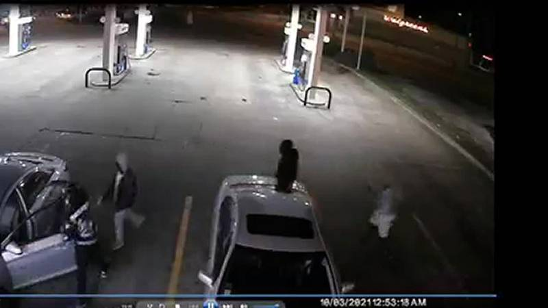 Armed men carjack woman with baby
