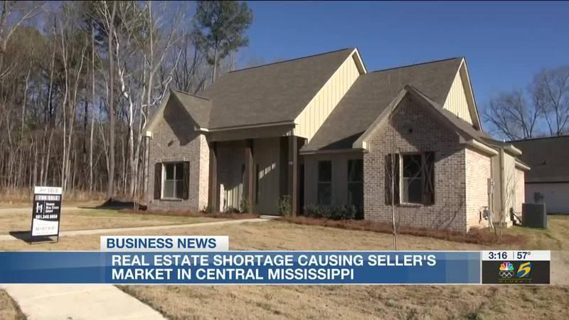 Real estate shortage creates seller's market in Central Mississippi