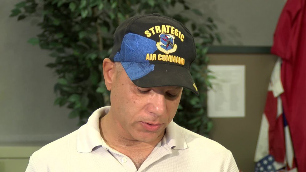 Self-proclaimed VA whistleblower Sean Higgins talked to the media about being fired from the...