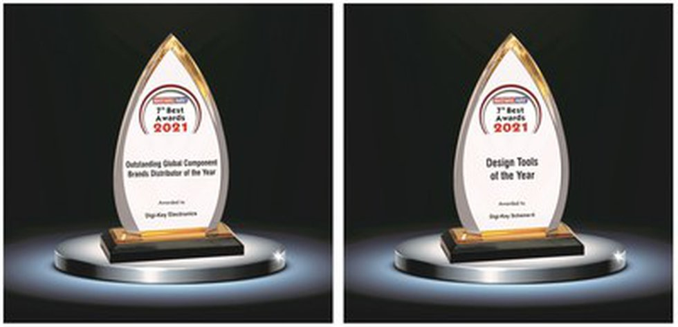 Electronics Maker recognized Digi-Key as the Outstanding Global Component Brands Distributor of...