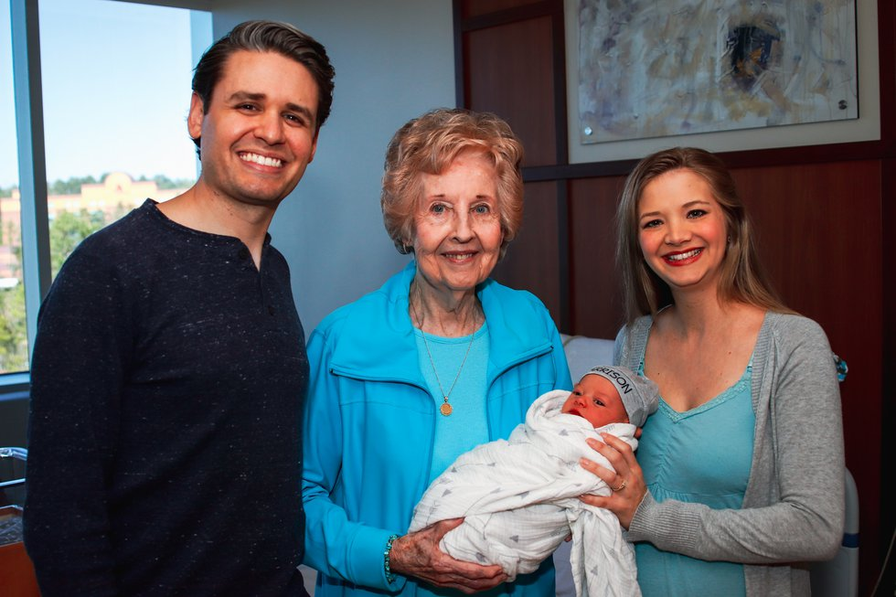Harrison was born on 2-20-20 at 2:20 p.m.