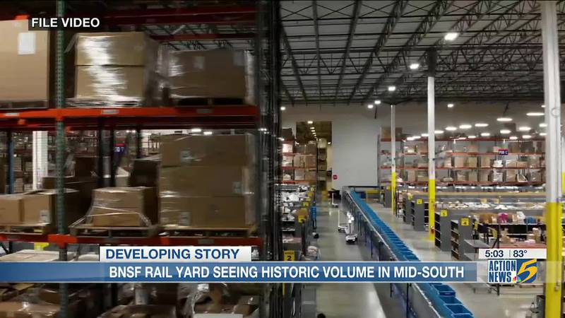 Mid-South shipping centers seeing historic levels of volume