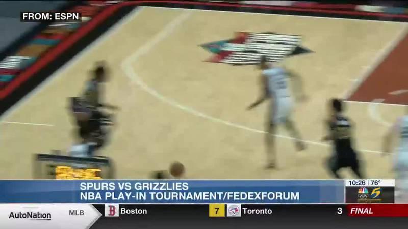 Spurs vs. Grizzlies