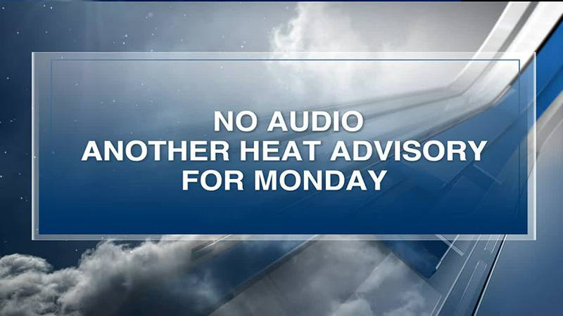 Another Heat Advisory for parts of the Mid-South as this hot and humid pattern persists