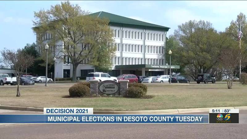Municipal Elections in Desoto County Tuesday