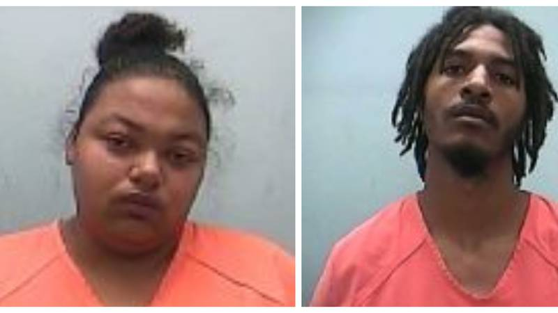 25-year-old Lakeisha Marie Jones and 24-year-old James Christopher Anderson have been charged...