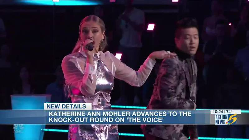Memphis singer advances to knock-out round on 'The Voice'