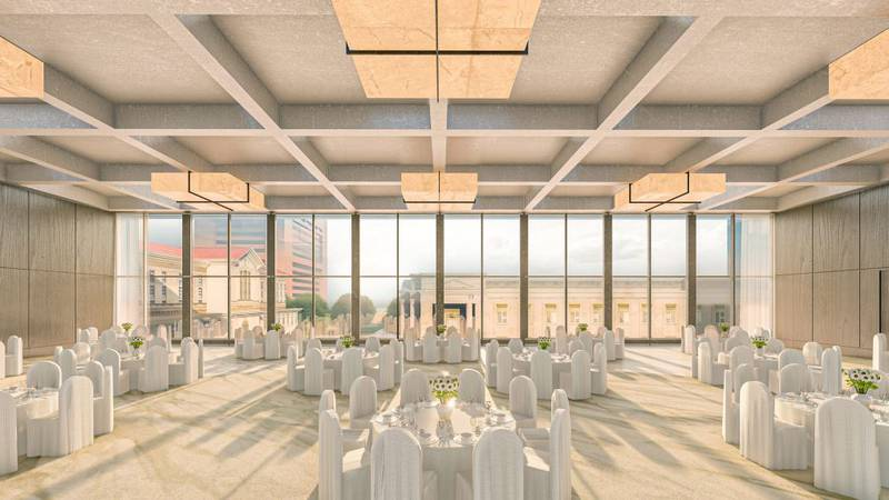 The Downtown Memphis Commission is giving us a sneak peek at the new  Loews Hotel.