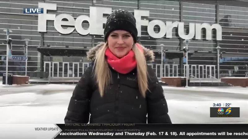 Grizzlies game will play without fans because of weather (3:30)