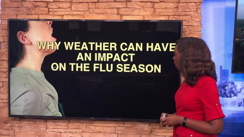 Breakdown: Why weather can have an impact on the flu season