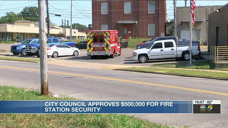 Memphis City Council approves $500K for fire station security