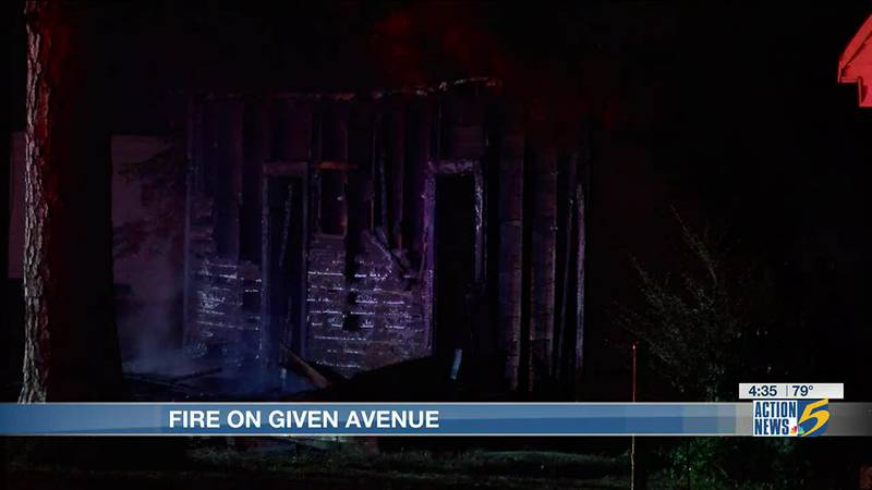Given Avenue fire intentionally set