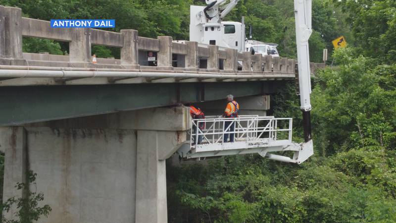 The bridge over the Spring River in Ravenden closed for several hours Tuesday following...