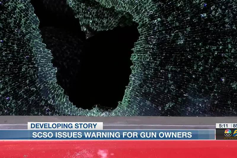 Shelby County Sheriff's Office issues warning for gun owners who leave guns in their vehicles